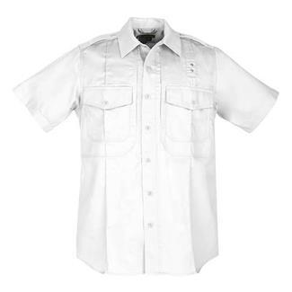 5.11 Short Sleeve Twill PDU Class B Shirts White