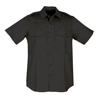 5.11 Short Sleeve Twill PDU Class B Shirts Black