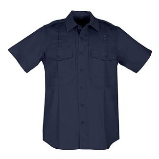 5.11 Short Sleeve Twill PDU Class B Shirts Midnight Navy