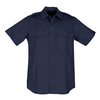 5.11 Short Sleeve Twill PDU Class B Shirts Midnight Navy