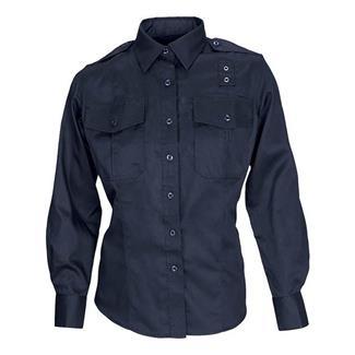 5.11 Long Sleeve Taclite PDU Class A Shirts Midnight Navy