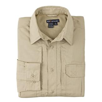 5.11 Long Sleeve Taclite Pro Shirts TDU Khaki