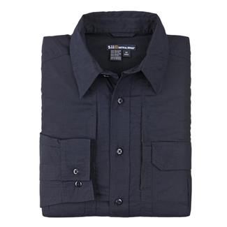 5.11 Long Sleeve Taclite Pro Shirts Dark Navy