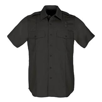 5.11 Short Sleeve Twill PDU Class A Shirts Black