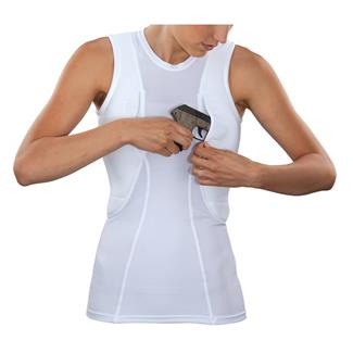 5.11 Sleeveless Holster Shirts White