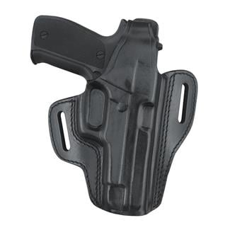 Gould & Goodrich Gold Line Two Slot Pancake Holster Black