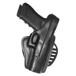 Gould & Goodrich Gold Line Paddle / Belt Loop Holster Black