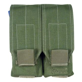 Maxpedition Double Stacked M4 / M16 30 Round Pouch OD Green