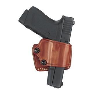 Gould & Goodrich Gold Line Yaqui Slide Holster Chestnut Brown