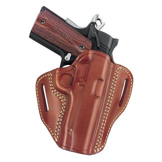 Gould & Goodrich Gold Line Open Top Two Slot Holster Chestnut Brown