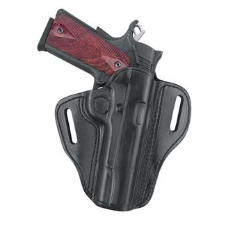 Gould & Goodrich Gold Line Open Top Two Slot Holster Black