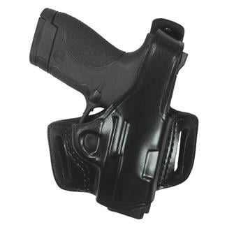 Gould & Goodrich Gold Line Belt Slide Holster with Thumb Break Black