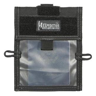 Maxpedition Traveler Passport / ID Carrier Black