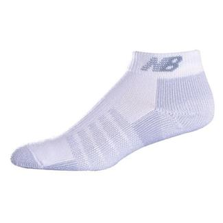 New Balance N230 Low Cut Coolmax Socks (2 pack) White
