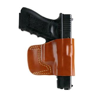 Gould & Goodrich Concealment Belt Slide Holster Chestnut Brown