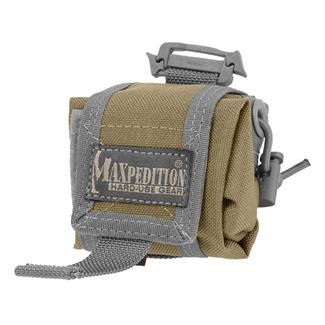 Maxpedition Mini Rollypoly Folding Dump Pouch Khaki / Foliage