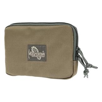 Maxpedition Hook-&-Loop Zipper Pocket Khaki / Foliage