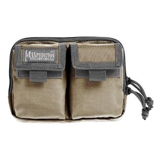Maxpedition Hook-&-Loop Double Pocket Insert Khaki / Foliage
