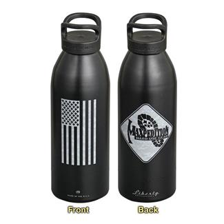 "Maxpedition Water Bottle ""Flag"" Black"