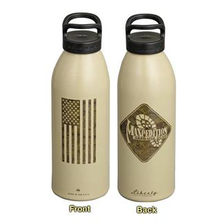 "Maxpedition Water Bottle ""Flag"" Desert Tan"
