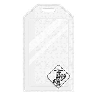 Maxpedition Logo Luggage Tag Clear