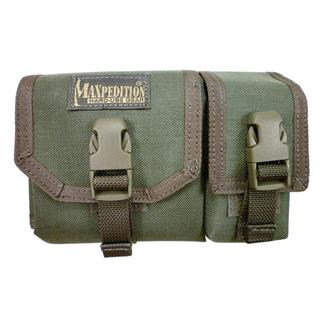 Maxpedition Tear Away Map Case with GPS Pocket Pouch Foliage Green