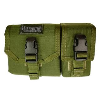 Maxpedition Tear Away Map Case with GPS Pocket Pouch Olive Drab