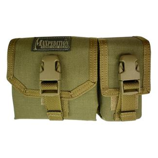 Maxpedition Tear Away Map Case with GPS Pocket Pouch Khaki