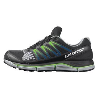 Salomon XR Crossmax 2 Gray Denim / Light Onyx / Fluorescent Green