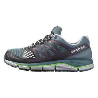 Salomon XR Crossmax 2 Mineral Gray / Light Onyx / Fluorescent Green