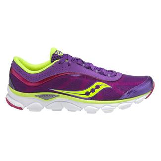 Saucony Virrata Purple / Citron / Pink