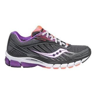 Saucony Ride 6 Gray / Purple / Vizipro Coral