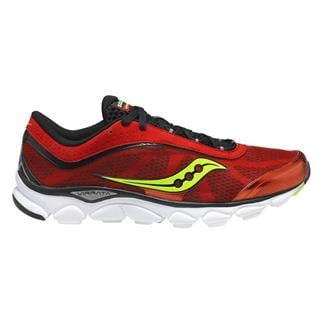 Saucony Virrata Red / Black / Citron