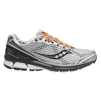 Saucony Triumph 10 Silver / Black / Orange