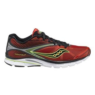 Saucony Kinvara 4 Red / Black / Citron