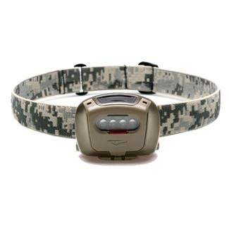 Princeton Tec Quad Tactical Headlamp Olive Drab Red / Blue / Green