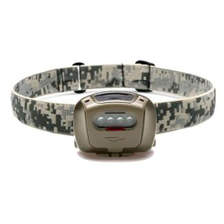 Princeton Tec Quad Tactical Headlamp Red / Blue / Green Olive Drab