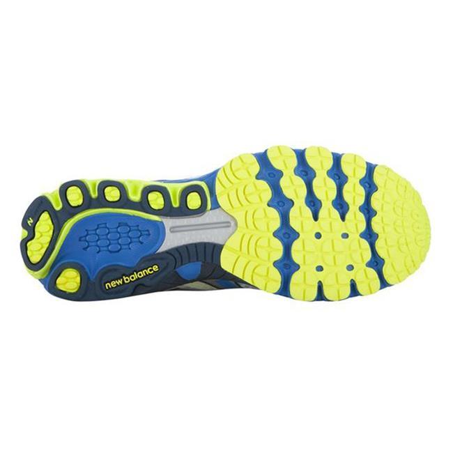 New Balance 870v3 White / Blue / Yellow