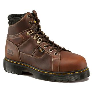 "Dr. Martens 6"" Heritage Ironbridge Internal Met ST Teak"