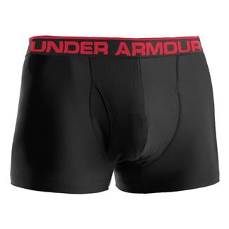 "Under Armour O-Series 3"" BoxerJock Boxer Briefs Black"