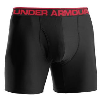 "Under Armour O-Series 6"" BoxerJock Boxer Briefs Black"