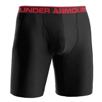"Under Armour O-Series 9"" BoxerJock Boxer Briefs Black"