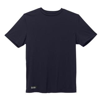 Under Armour Tactical HeatGear SS Tee Dark Navy Blue