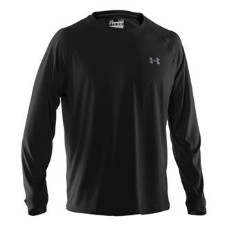 Under Armour Tech LS Tee Black