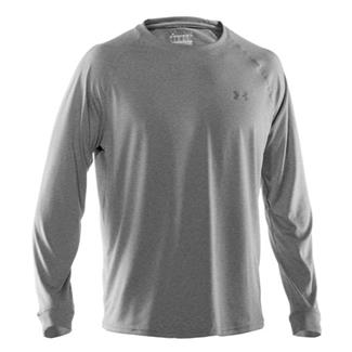 Under Armour Tech LS Tee True Gray Heather