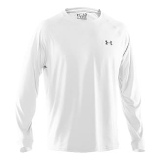 Under Armour Tech LS Tee White
