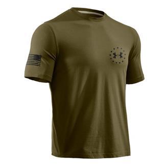 Under Armour WWP Freedom Flag Tee Marine OD Green