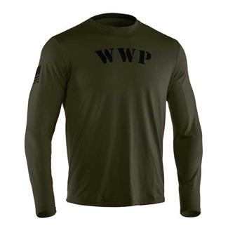 Under Armour WWP LS Tee Marine OD Green