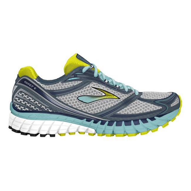 Brooks Ghost 6 Silver / Sulphur Spring / Midnight
