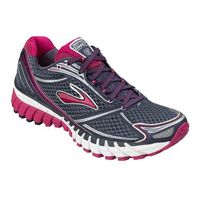 Brooks Ghost 6 Midnight / Denim / Pomegranate
